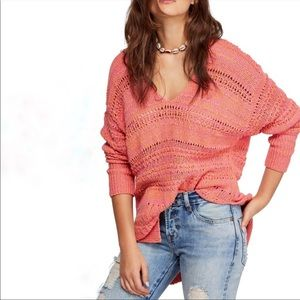 NEW Free People Hot Tropics Sweater